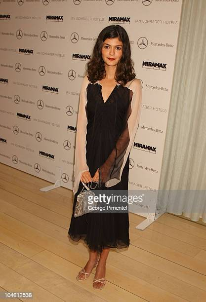 Audrey Tautou during Miramax PreOscar Party Arrivals at Mondrian Hotel in West Hollywood California United States