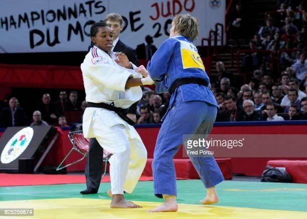 Audrey TCHEUMEO 78kg / Lucie LOUETTE 78kg Finale Tournoi de Paris 78 kg Judo Paris