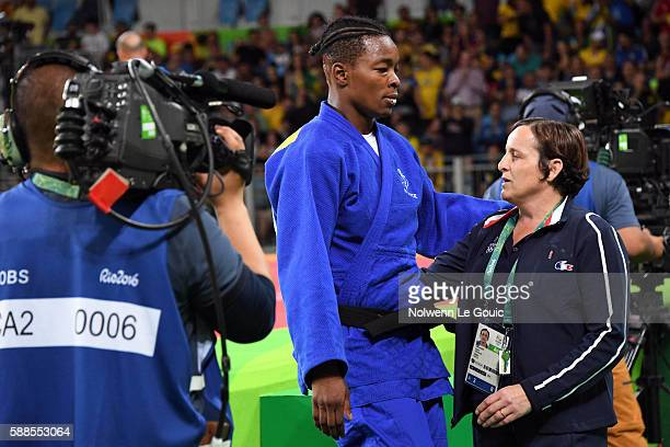 Audrey Tcheumeo of France during the final on 78Kg during Judo on Olympic Games 2016 in Rio at Carioca Arena 2 on August 11 2016 in Rio de Janeiro...
