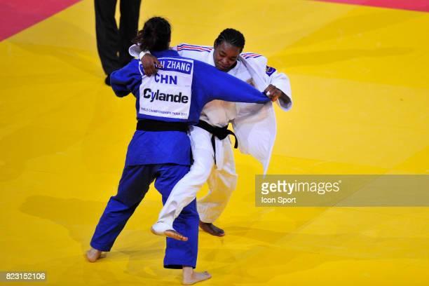Audrey TCHEUMEO / Zhehui ZHANG 78kg Championnats du Monde de Judo 2011 Paris