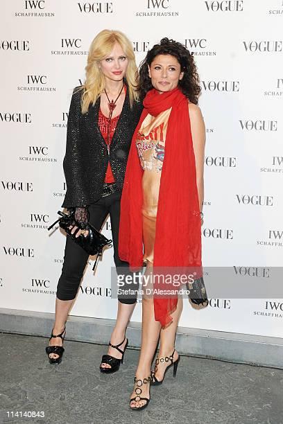 Audrey Tritto and Gilda Tritto attend Vogue and IWC present 'Peter Lindbergh's Portofino' at 10 Corso Como on May 12 2011 in Milan Italy