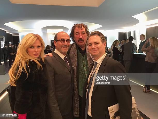 Audrey Tritto Watch Designer Richard Mille Monty Shadow and Jason Binn circa January 2016 in Geneva Switzerland