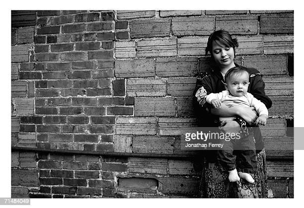 Audrey with her son Vincent 10 months is now off the streets Audrey was on the streets sporadically since she was twelve Portland Oregon has the...