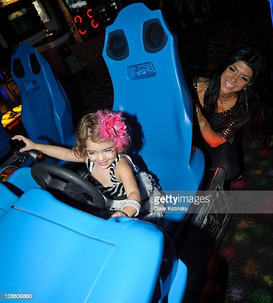 Audriana attends Audriana and Gabriella Giudices' birthday party at Space Odyssey on October 9 2011 in Englewood New Jersey