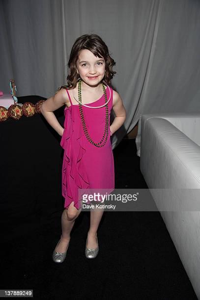 Audriana Giudice attends Gia Giudice & Milania Giudice's Birthday Party at Space Odyssey on January 28, 2012 in Englewood, New Jersey.