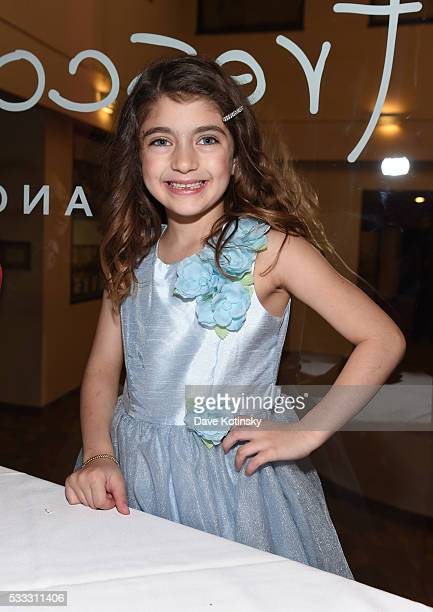 Audriana Giudice celebrates Gino Gorga's First Communion at Fresco on May 21, 2016 in Montclair, New Jersey.