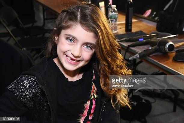 Audriana Giudice poses backstage at BKLYN Rocks presented by City Point, Kids Foot Locker, and Haddad Brands at City Point on November 9, 2016 in...