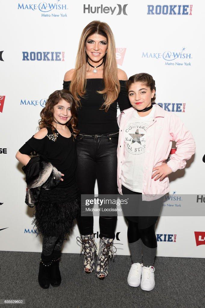 Rookie USA - Backstage - February 2017 - New York Fashion Week: The Shows : Nieuwsfoto's