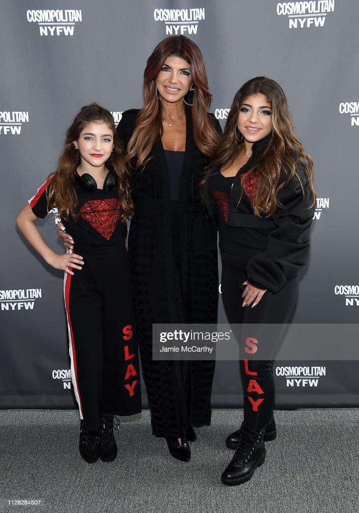 Cosmopolitan NYFW - Backstage - February 2019 - New York Fashion Week : Nieuwsfoto's