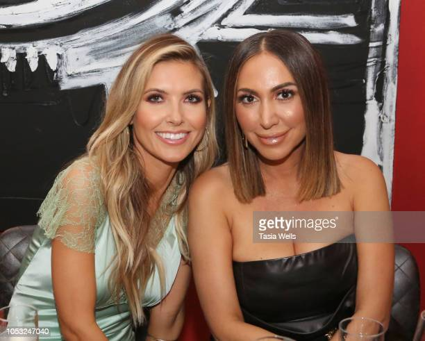 Audrina Patridge and Diana Madison attend the Wild Spirit Fragrance Holiday Collection dinner at Norah in West Hollywood at Norah on October 24 2018...