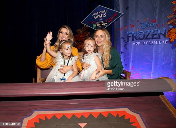 Audrina Patridge and guests attend the world premiere of Disney's Frozen 2 at Hollywood's Dolby Theatre on Thursday November 7 2019 in Hollywood...