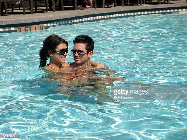SANTA MONICA CA OCTOBER 02 Audrina Patridge and Josh Christopher at the Fairmont Miramar Hotel in Santa Monica CA on October 2 2008