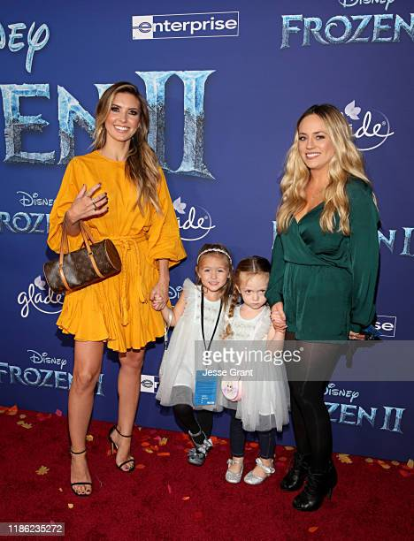 Audrina Patridge and Kirra Max Bohan attend the world premiere of Disney's Frozen 2 at Hollywood's Dolby Theatre on Thursday November 7 2019 in...