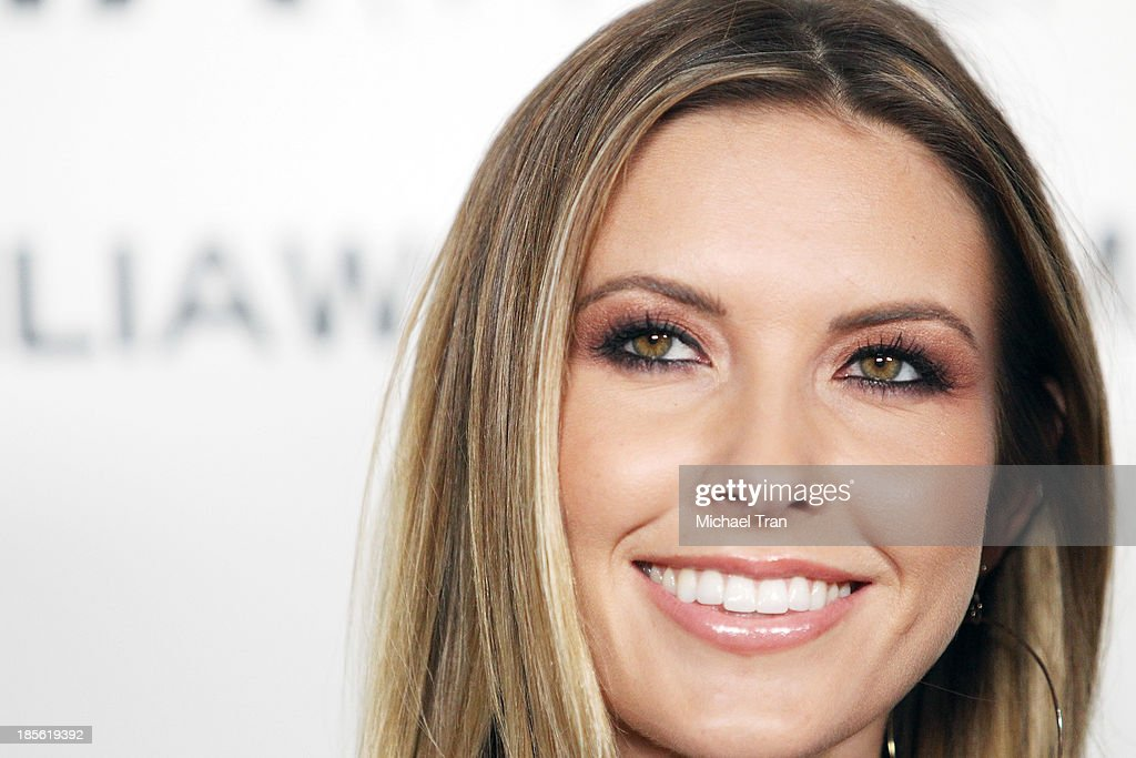 Audrina Patridge arrives at the Dahlia Wolf launch party held at Graffiti Cafe on October 22, 2013 in Los Angeles, California.
