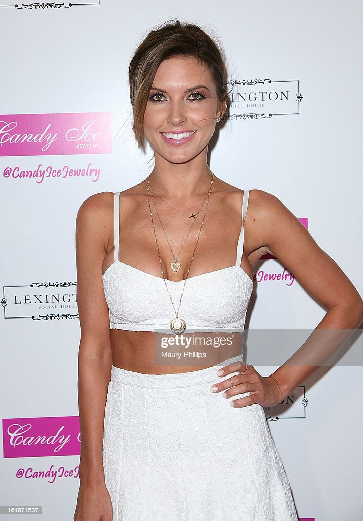 Audrina Patridge attends Fire & Ice Gala Benefiting Fresh2o at Lexington Social House on March 28, 2013 in Hollywood, California.