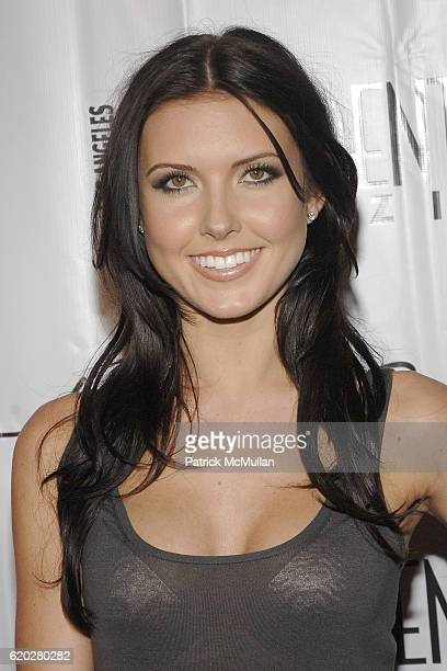 Audrina Patridge attends Kenneth Cole New York Celebrates The AWEARness Fund at the Kenneth Cole Beverly Center Store at Kennth Cole on April 3 2008...