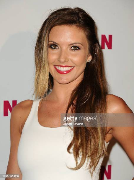 Audrina Patridge attends Nylon Magazine's Young Hollywood issue event at The Roosevelt Hotel on May 14 2013 in Hollywood California