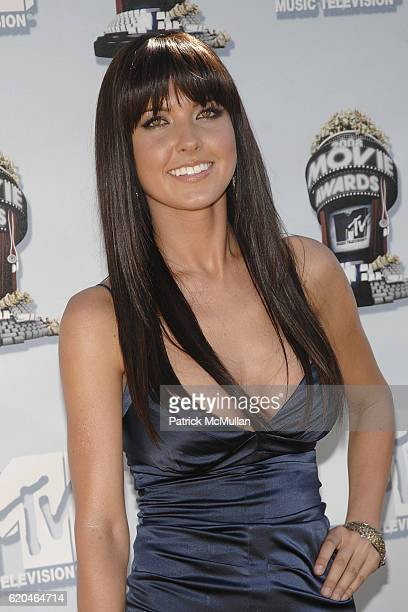 Audrina Patridge attends The 2008 MTV Movie Awards Arrivals at Universal City on June 1 2008 in Los Angeles CA