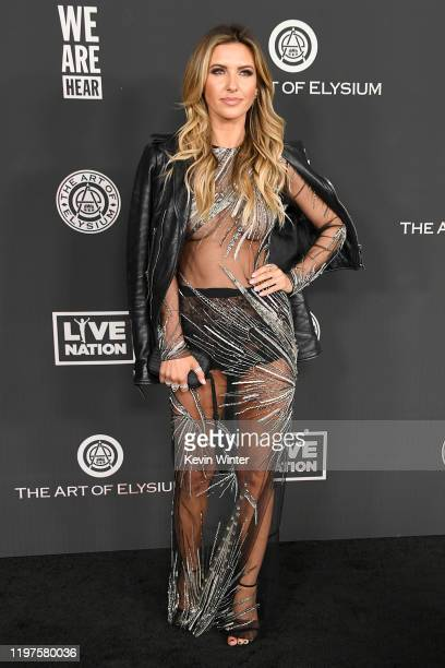 Audrina Patridge attends The Art Of Elysium's 13th Annual Celebration - Heaven at Hollywood Palladium on January 04, 2020 in Los Angeles, California.