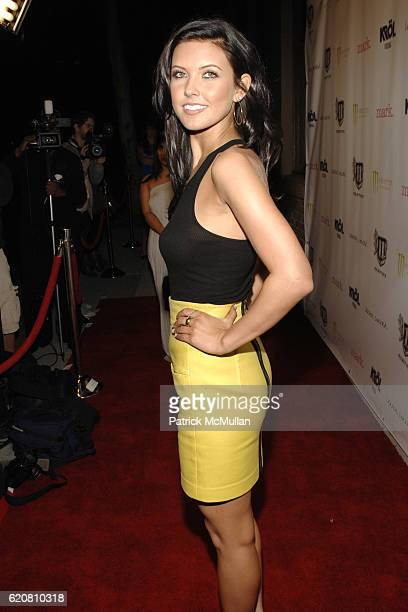 Audrina Patridge attends The Conrad Collection After Party at Eleven on March 11 2008 in Santa Monica CA