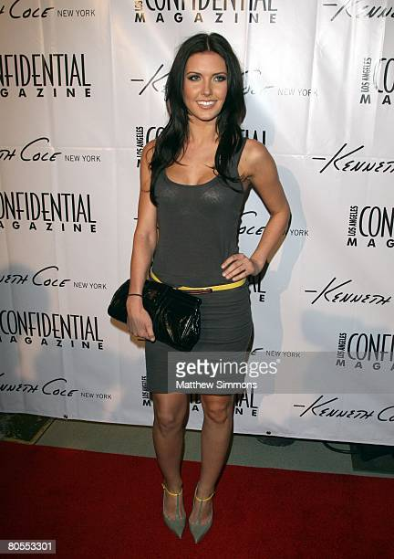 Audrina Patridge attends the Kenneth Cole New York Awearness Fund Celebration at Kenneth Cole New York Store at the Beverly Center on April 3, 2008...