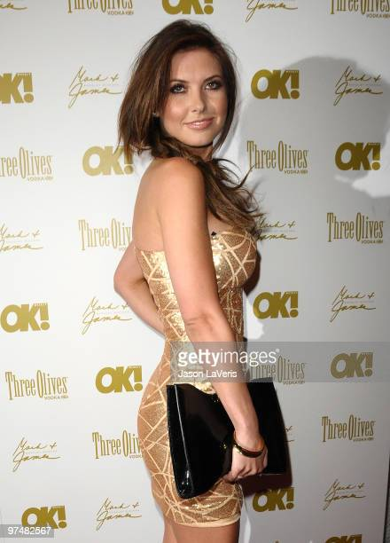 Audrina Patridge attends the OK Magazine preOscar party at Beso on March 5 2010 in Hollywood California