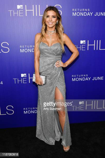 Audrina Patridge attends the premiere of MTV's The Hills New Beginnings at Liaison on June 19 2019 in Los Angeles California