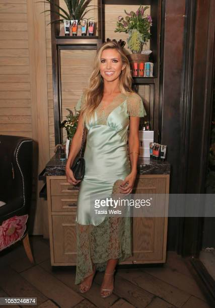 Audrina Patridge attends the Wild Spirit Fragrance Holiday Collection dinner at Norah in West Hollywood at Norah on October 24 2018 in West Hollywood...
