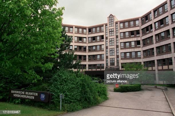 Außenansicht der Zentrale der Bayerischen Beamten Versicherungen an der Münchner Thomas Dehler-Straße, aufgenommen am 12.8.1999. Im Zuge der...