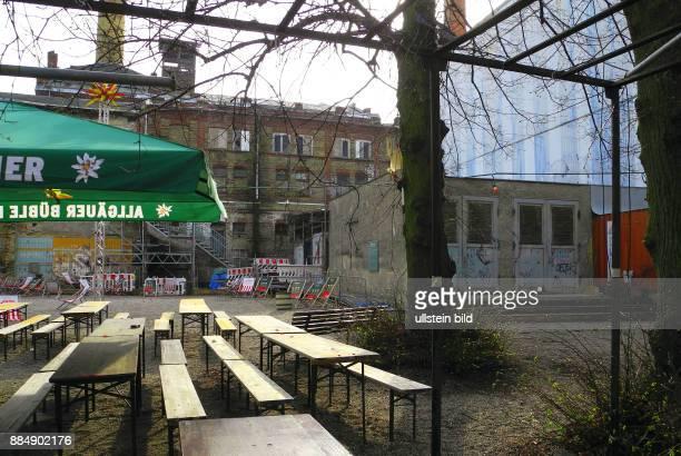Auf dem Gelaende der ehemaligen Weissbierbrauerei Willner Brauerei Berlin am Eschengraben in Prenzlauer Berg will Ende April 2016 der Klub der...