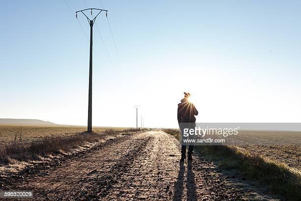auf dem weg - weg bildbanksfoton och bilder