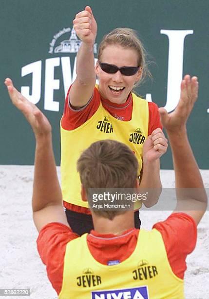 MASTERS 2002 auf Sylt JUBEL Silke SCHMITT/Katrin PETZOLD
