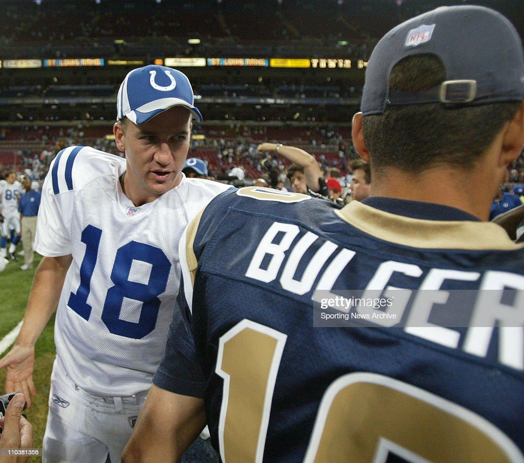 NFL: Colts at Rams : News Photo