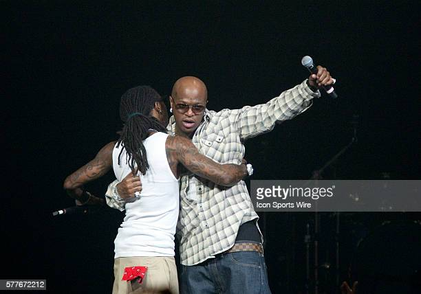Lil Wayne and Birdman perform at the Theatre at Honda Center in Anaheim CA