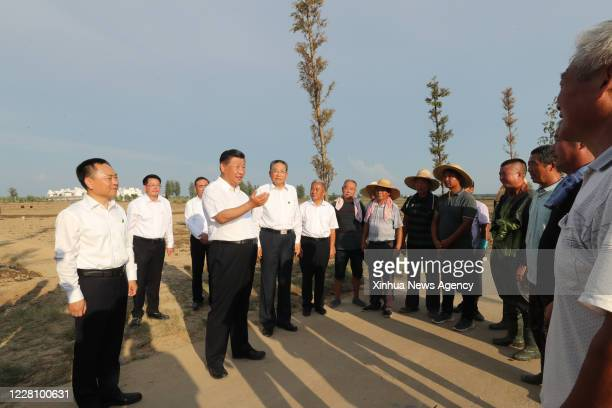 Aug. 18, 2020 -- Chinese President Xi Jinping, also general secretary of the Communist Party of China Central Committee and chairman of the Central...