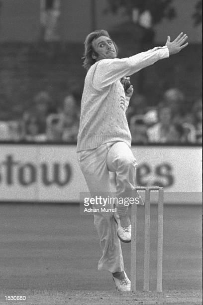 John Lever bowling during a county game between Essex and Middlesex Mandatory Credit Adrian Murrell/Allsport
