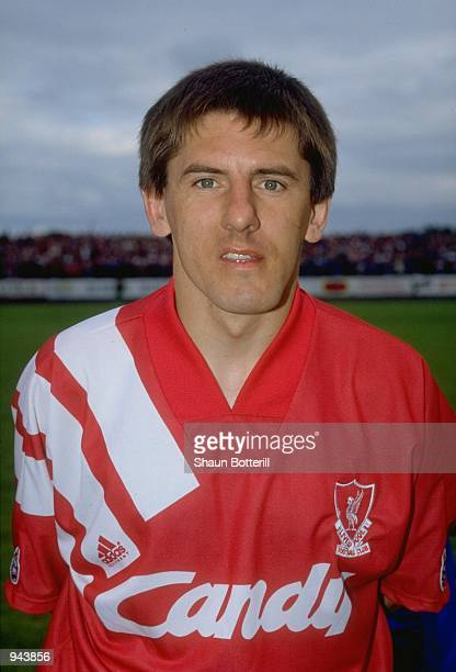 Portrait of Peter Beardsley of Liverpool before a preseason friendly in Sweden Mandatory Credit Shaun Botterill /Allsport