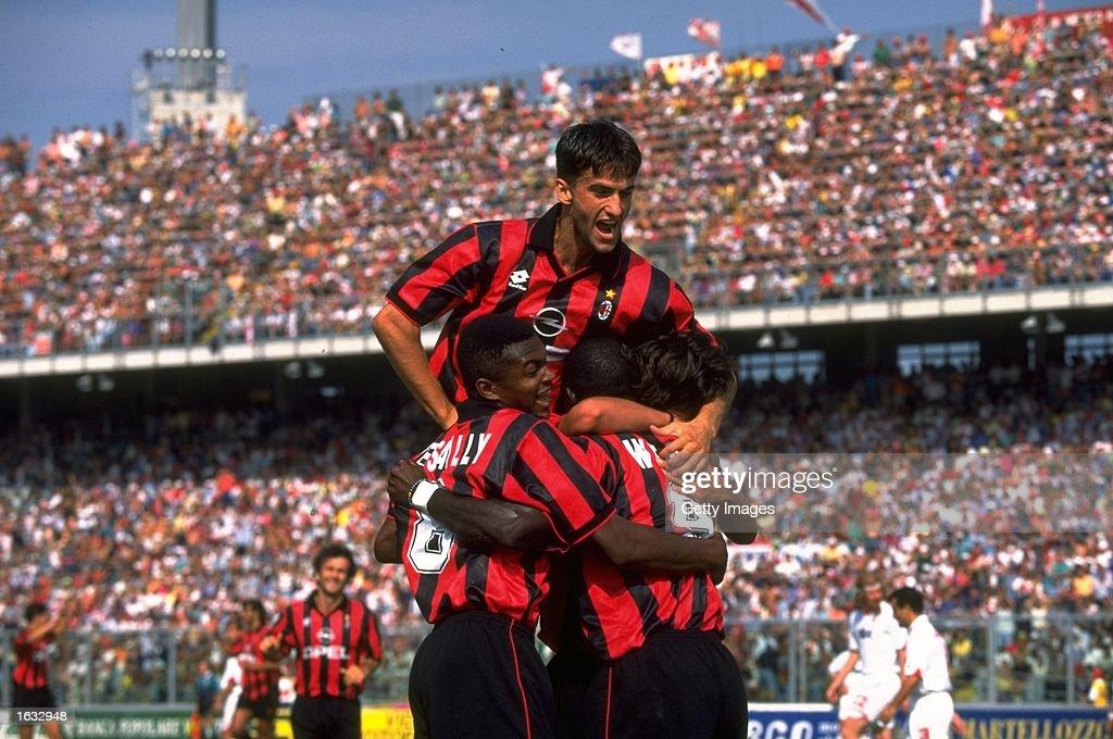 Christian Panucci of AC Milan : News Photo
