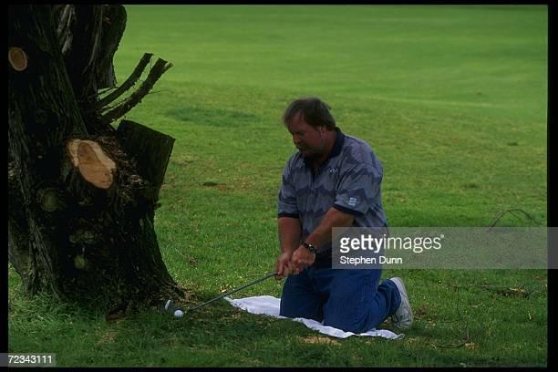 Craig Stadler at Torrey Pines Golf Course in San Diego California Mandatory Credit Stephen Dunn /Allsport