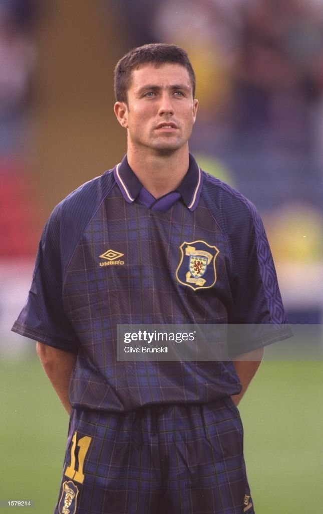 SCOTLAND V GREECE JOHN COLLINS : News Photo