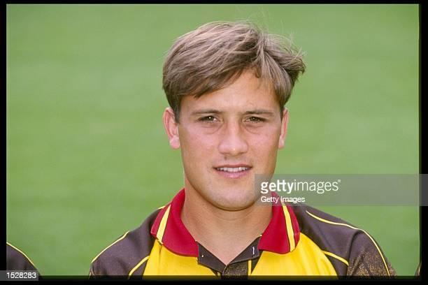 A portrait of Craig Ramage of Watford football club taken during the club photocall Mandatory Credit Allsport UK