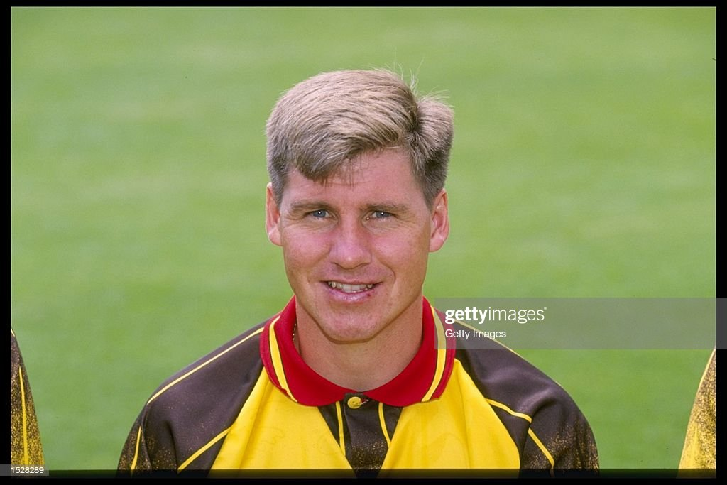 A portrait of Nigel Gibbs of Watford : News Photo