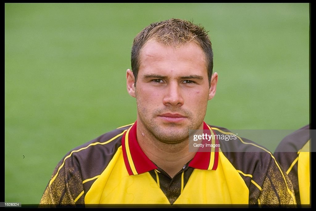 A portrait of Tommy Mooney of Watford football club taken during the club photocall. Mandatory Credit: Allsport UK