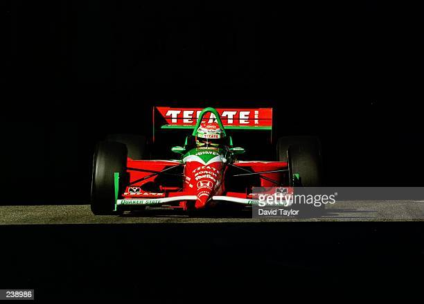 Adrian Fernandez of Mexico in the Tasman Motorsports Lola Honda T96/00 during practice for the Molson Indy round fourteen of the PPG Indycar World...