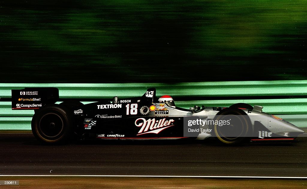 Bobby Rahal In The Reynard Mercedes 961 Takes Second Place At The