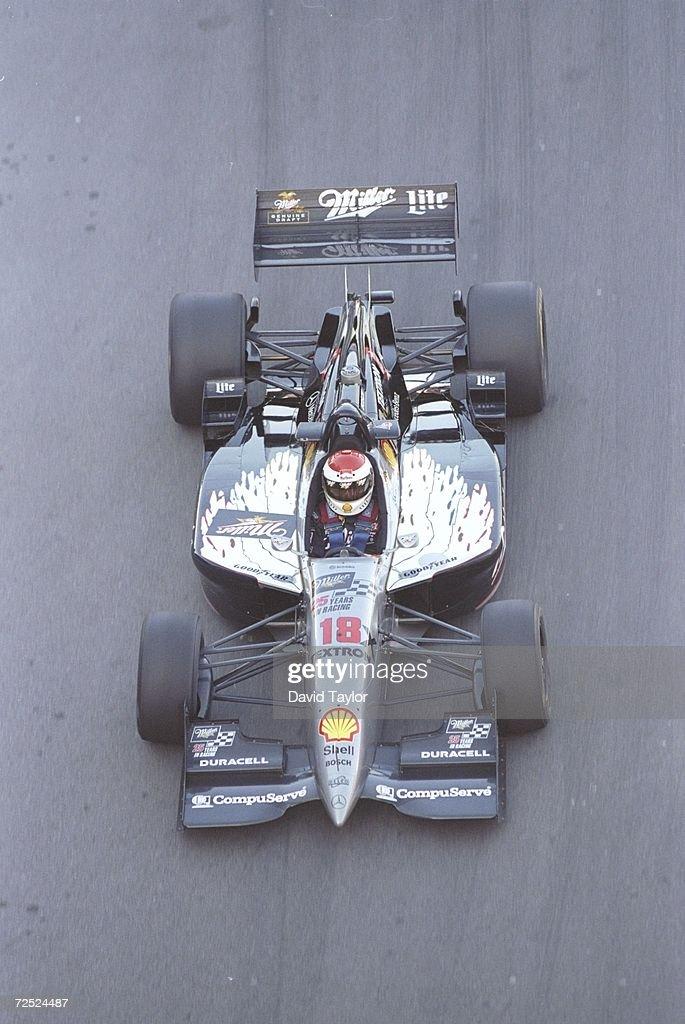 Bobby Rahal Of Team Rahal Drives His Reynard 961 Mercedes Ic108c