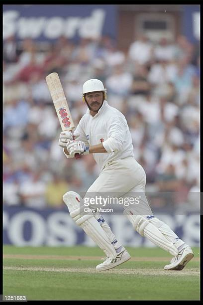 Graham Gooch of Essex in action during the Nat West trophy semi final between Essex and Surrey at the Oval in London Mandatory Credit Clive...