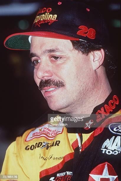 Nascar driver Ernie Irvan during the Bud at the Glen in Watkins Glen New York