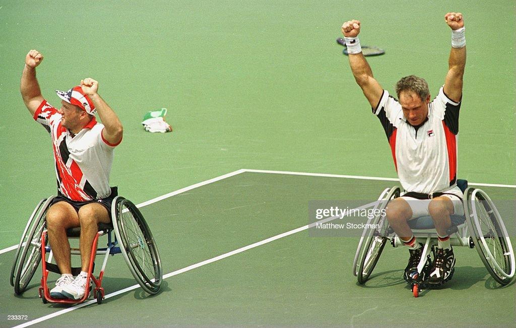Paralympics Tennis : News Photo