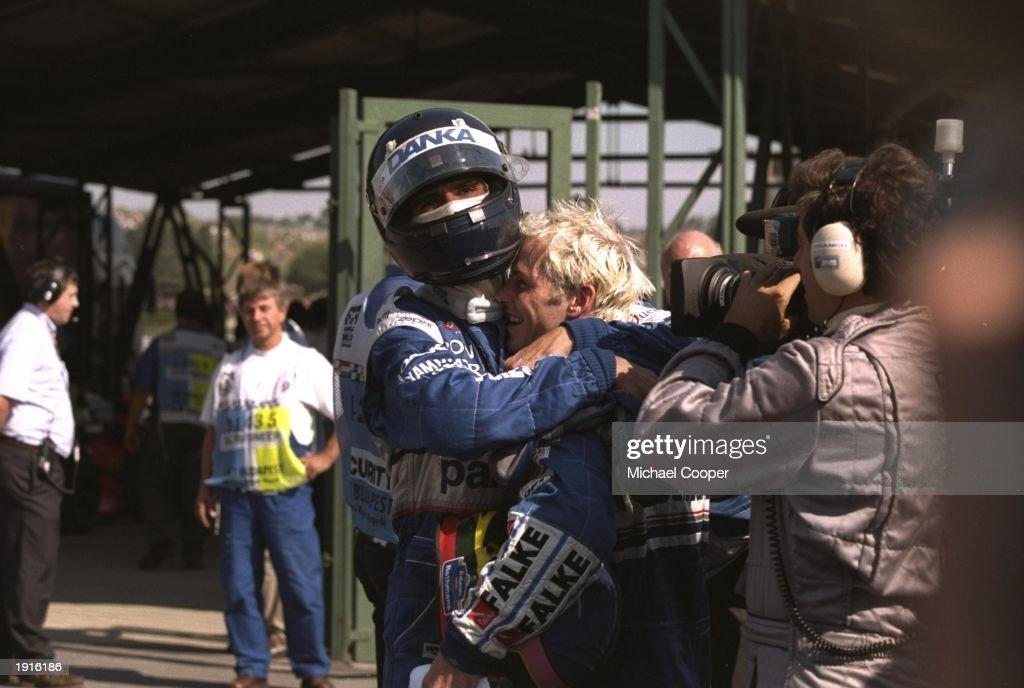 Damon Hill : News Photo
